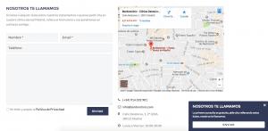marketing odontológico - formulario web - marketing de contenidos - agencia de marketing digital Valencia y Madrid