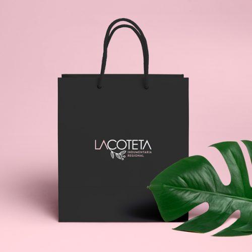 Lacoteta - Diseño De Identidad Corporativa Para Tienda De Indumentaria Regional - Éruga