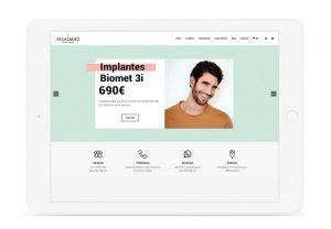 Proyecto de Marketing dental en Madrid - Clínica Dental Velázquez - Éruga