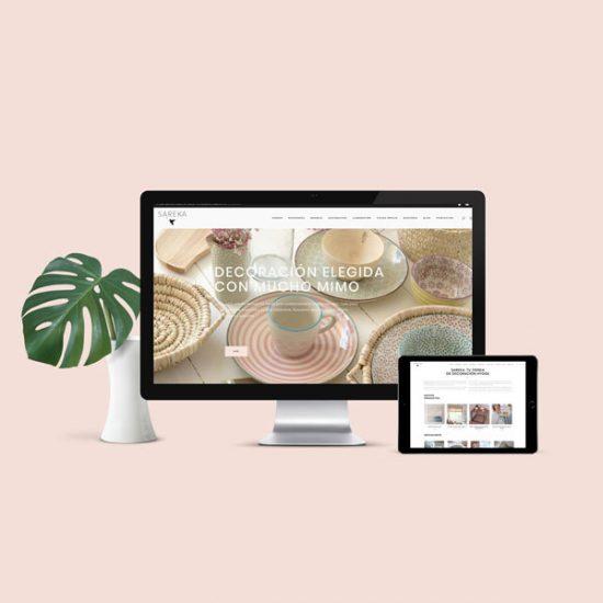 Tienda online Sareka - Éruga Comunicación