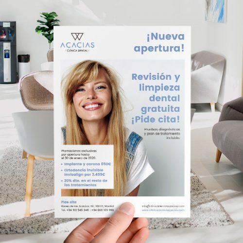 Clínica Dental Acacias - Marketing Dental - Éruga Comunicación