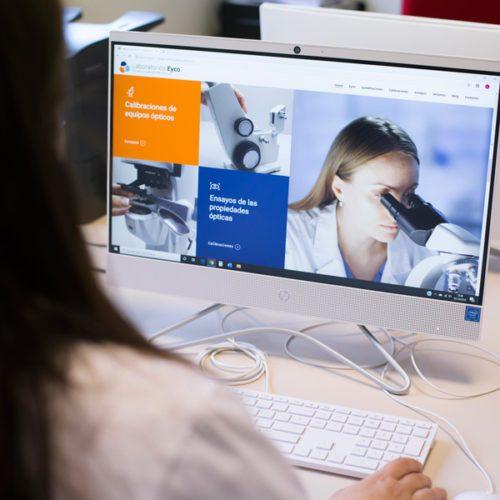 Laboratorios Eyco - Diseño Web - Éruga Comunicación