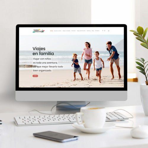 Viajes Mariajo - Diseño Web Agencia De Viajes - Éruga Comunicación